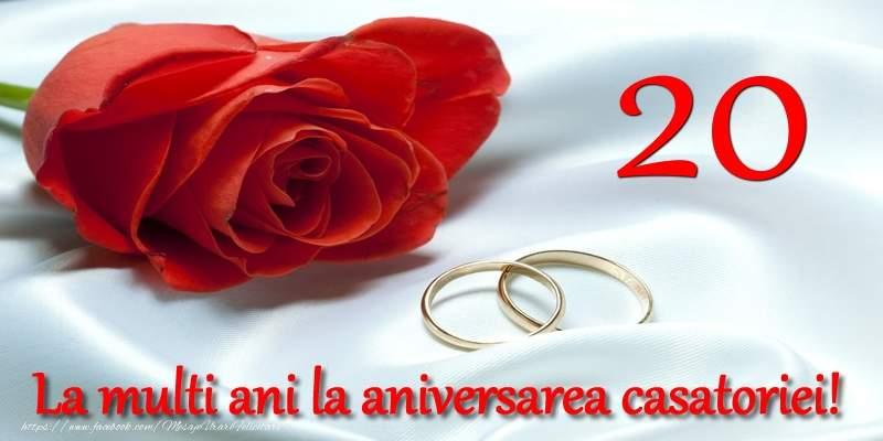 Felicitari Aniversare Casatorie 20 ani
