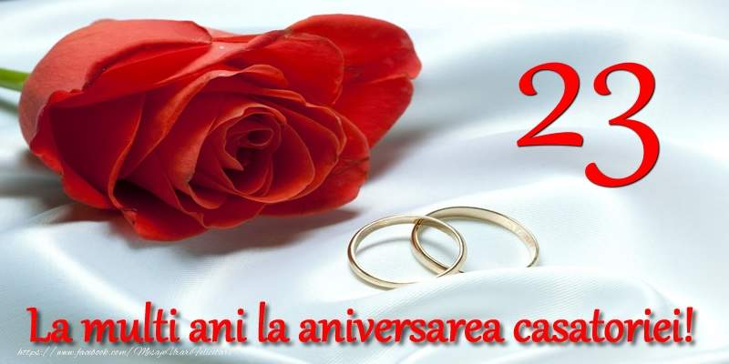 Felicitari Aniversare Casatorie 23 ani