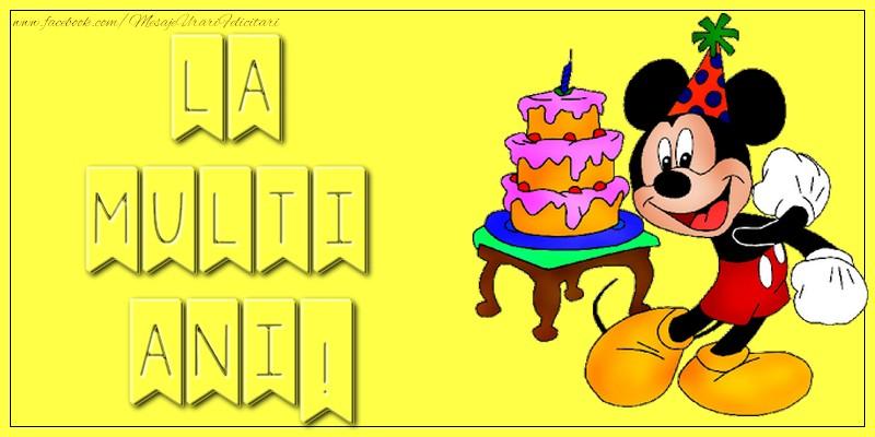 Felicitari aniversare Pentru Copii - La multi ani!