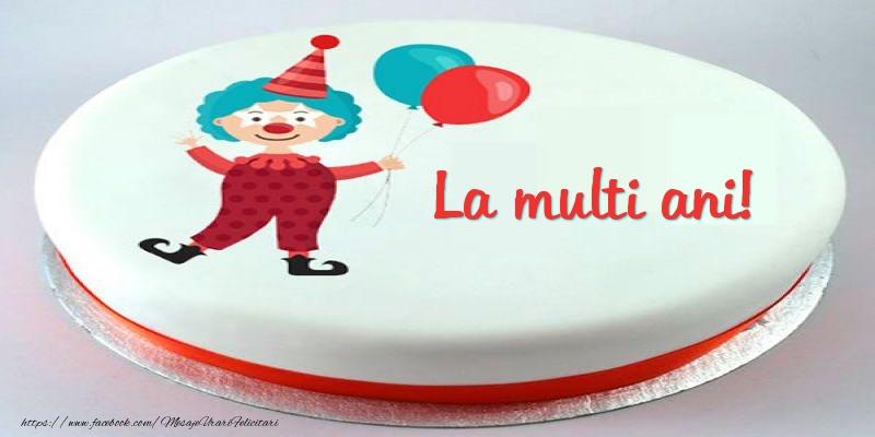 Felicitari aniversare Pentru Copii - Tort La multi ani!