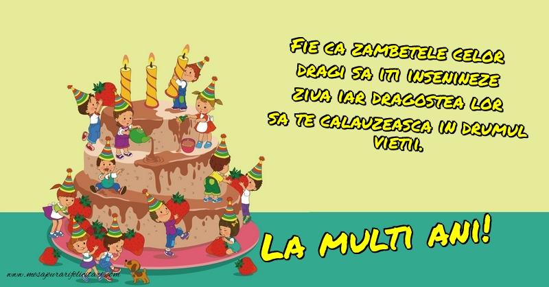 Felicitari aniversare Pentru Copii - La multi ani