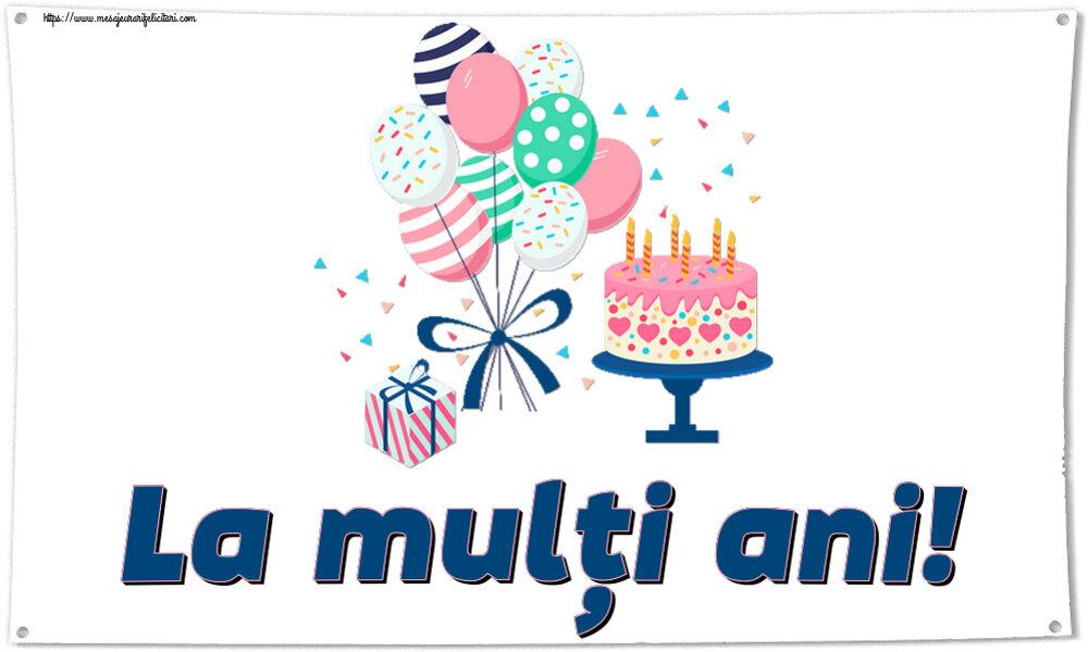 Felicitari aniversare Pentru Copii - La mulți ani!