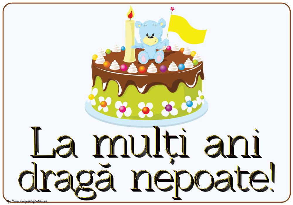Felicitari aniversare Pentru Copii - La mulți ani dragă nepoate!