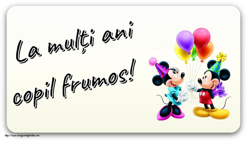Felicitari aniversare Pentru Copii - La mulți ani copil frumos! ~ Mickey și Minnie mouse