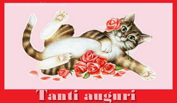 Felicitari Aniversare in limba Italiana - Tanti auguri