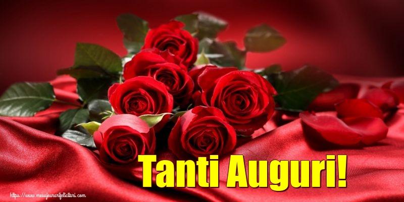 Felicitari Aniversare in limba Italiana - Tanti Auguri!
