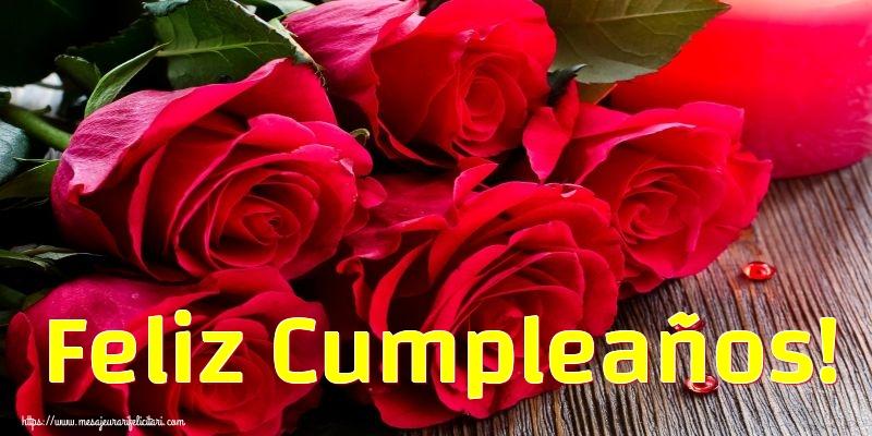 Felicitari Aniversare in limba Spaniola - Feliz Cumpleaños!