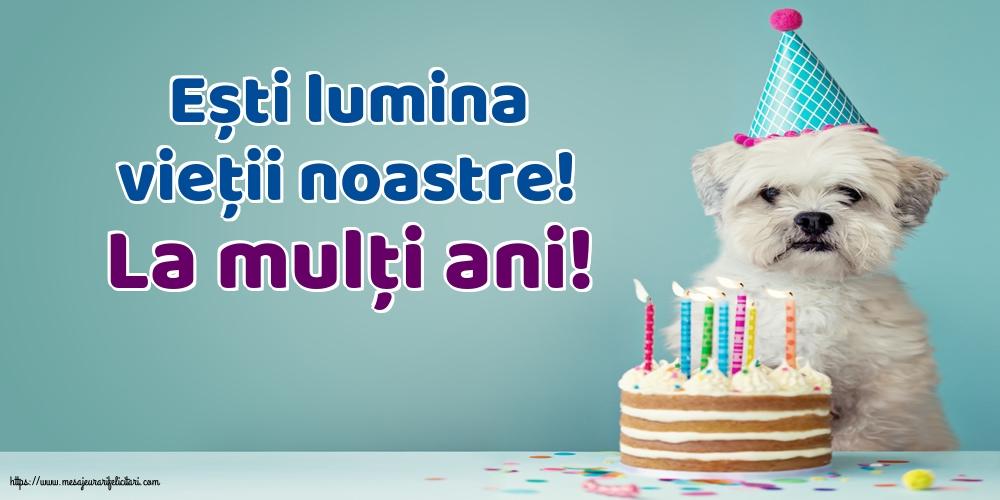 Felicitari aniversare De La Multi Ani - La mulţi ani!