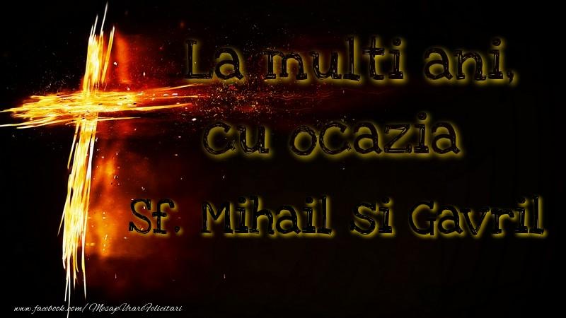 Felicitari aniversare De Sfintii Mihail si Gavril - Sf. Mihail si Gavril