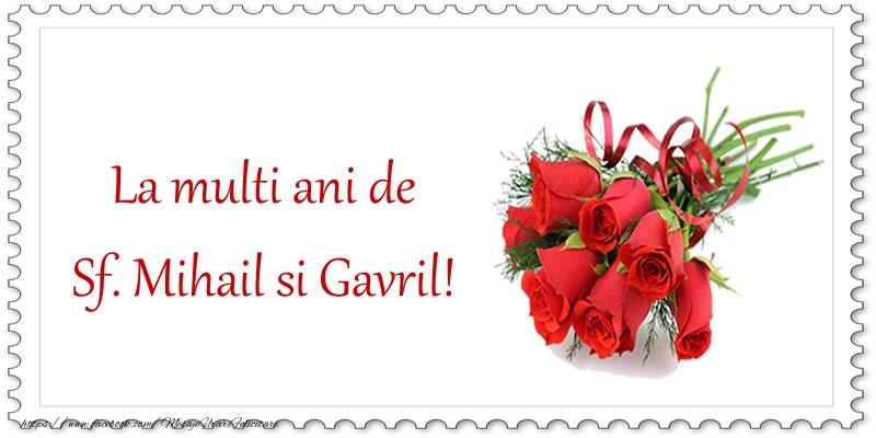 Felicitari aniversare De Sfintii Mihail si Gavril - La multi ani de Sf. Mihail si Gavril!