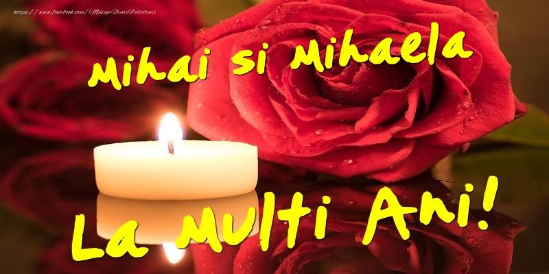 Felicitari aniversare De Sfintii Mihail si Gavril - Mihai si Mihaela  - La multi ani!