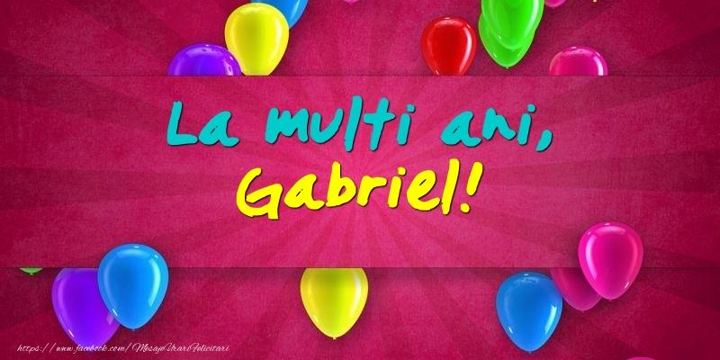Felicitari aniversare De Sfintii Mihail si Gavril - La multi ani, Gabriel!