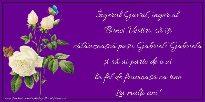 Felicitari aniversare De Sfintii Mihail si Gavril - La mulţi ani!