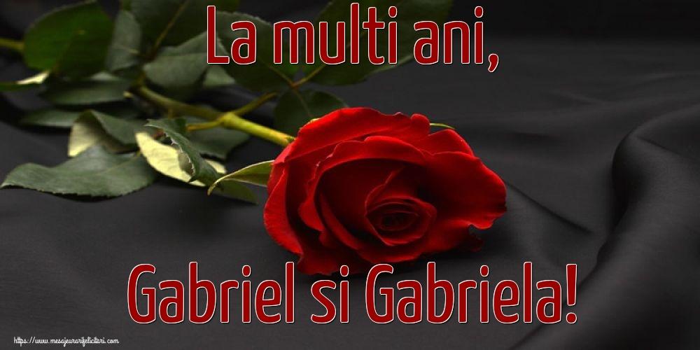 Felicitari aniversare De Sfintii Mihail si Gavril - La multi ani, Gabriel si Gabriela!