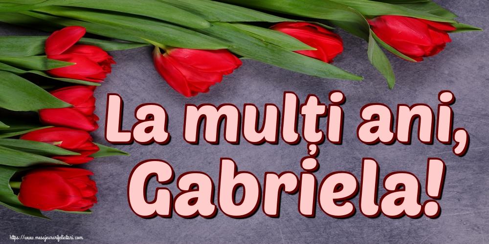Felicitari aniversare De Sfintii Mihail si Gavril - La mulți ani, Gabriela!