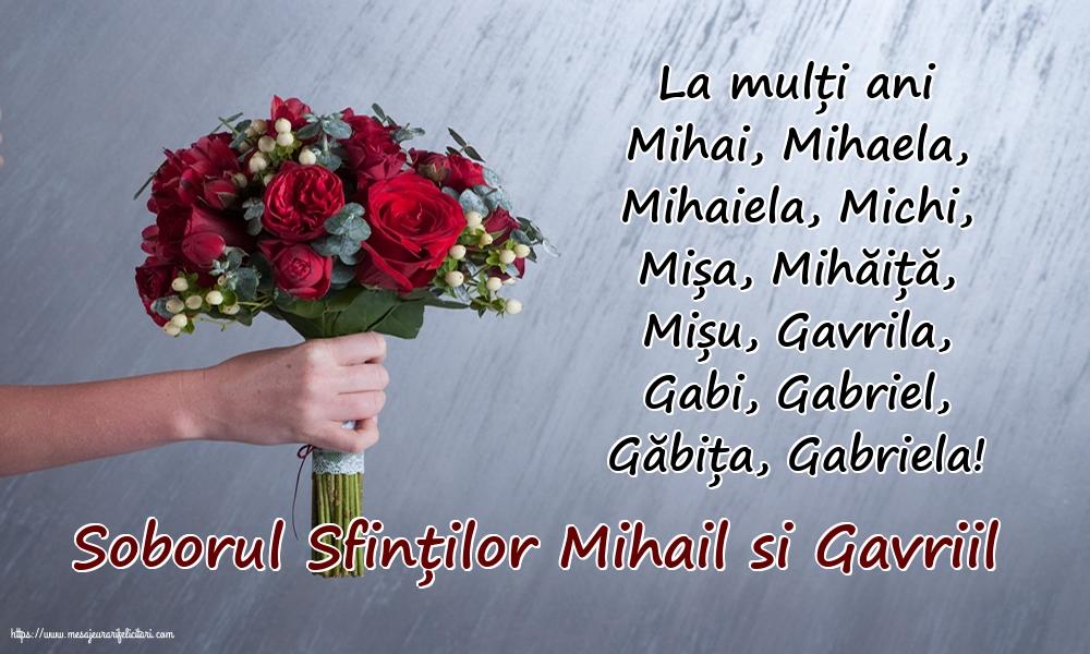 Felicitari aniversare De Sfintii Mihail si Gavril - Soborul Sfinților Mihail si Gavriil
