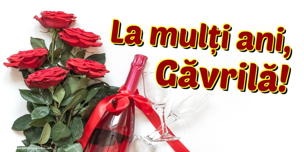 Felicitari aniversare De Sfintii Mihail si Gavril - La mulți ani, Găvrilă!
