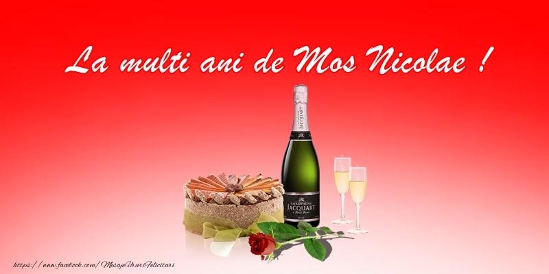 Felicitari aniversare De Sfantul Nicolae - La multi ani de Mos Nicolae!
