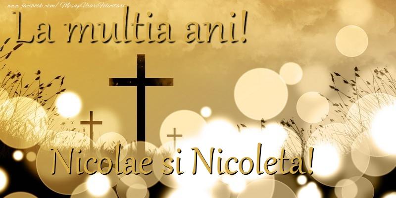 Felicitari aniversare De Sfantul Nicolae - Nicolae si Nicoleta!