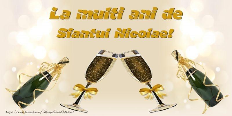 Felicitari aniversare De Sfantul Nicolae - La multi ani de Sfantul Nicolae!
