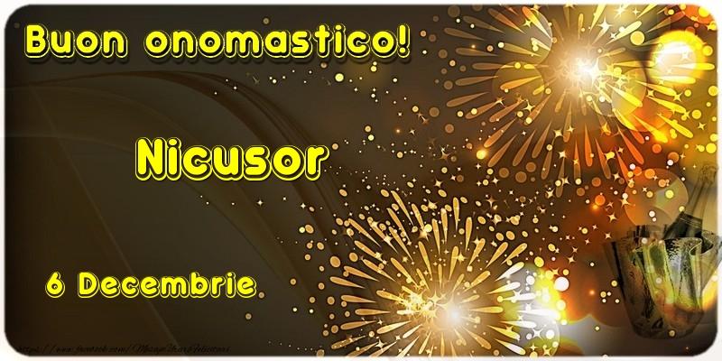 Felicitari aniversare De Sfantul Nicolae - Buon Onomastico Nicusor! 6 Decembrie