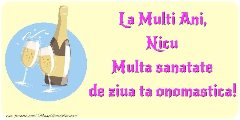 Felicitari aniversare De Sfantul Nicolae - La Multi Ani, Multa sanatate de ziua ta onomastica! Nicu