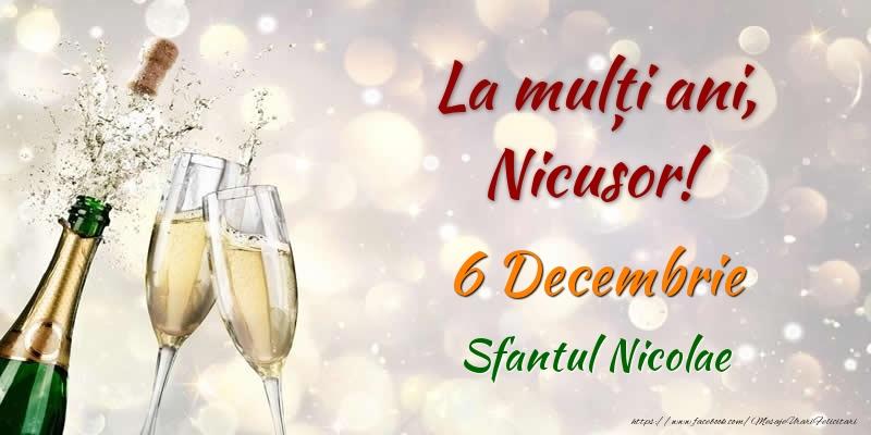 Felicitari aniversare De Sfantul Nicolae - La multi ani, Nicusor! 6 Decembrie Sfantul Nicolae