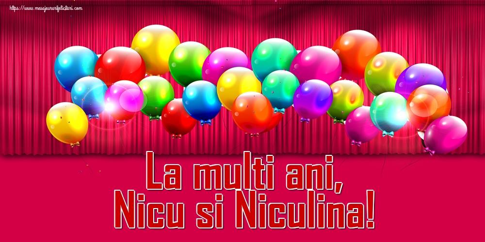 Felicitari aniversare De Sfantul Nicolae - La multi ani, Nicu si Niculina!