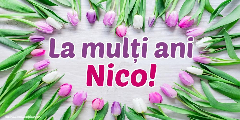 Felicitari aniversare De Sfantul Nicolae - La mulți ani Nico!