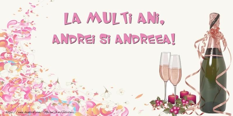 Felicitari aniversare De Sfantul Andrei - La multi ani, Andrei si Andreea!