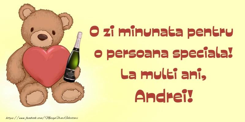 Felicitari aniversare De Sfantul Andrei - O zi minunata pentru o persoana speciala! La multi ani, Andrei!