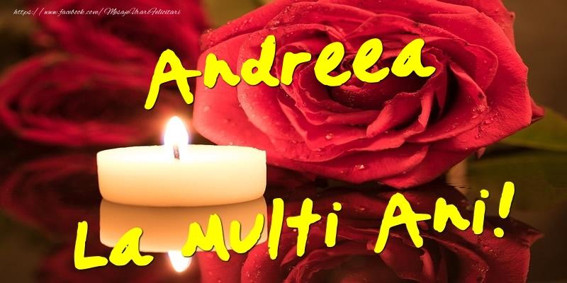 Felicitari aniversare De Sfantul Andrei - Andreea La Multi Ani!
