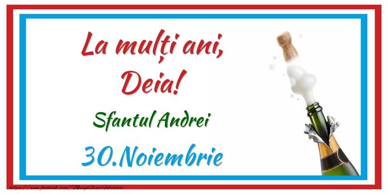 Felicitari aniversare De Sfantul Andrei - La multi ani, Deia! 30.Noiembrie Sfantul Andrei