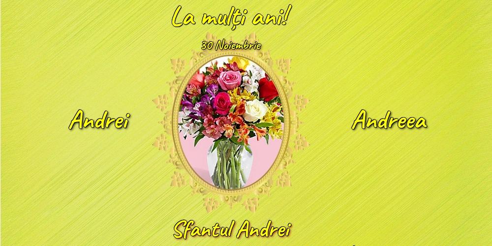 Felicitari aniversare De Sfantul Andrei - 30 Noiembrie - Sfantul Andrei