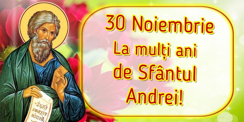 Felicitari aniversare De Sfantul Andrei - 30 Noiembrie La mulți ani de Sfântul Andrei!