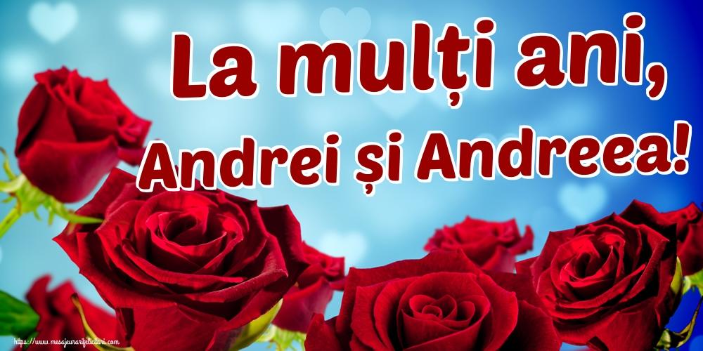 Felicitari aniversare De Sfantul Andrei - La mulți ani, Andrei și Andreea!