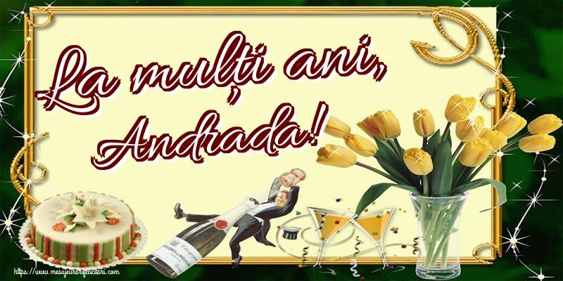 Felicitari aniversare De Sfantul Andrei - La mulți ani, Andrada!