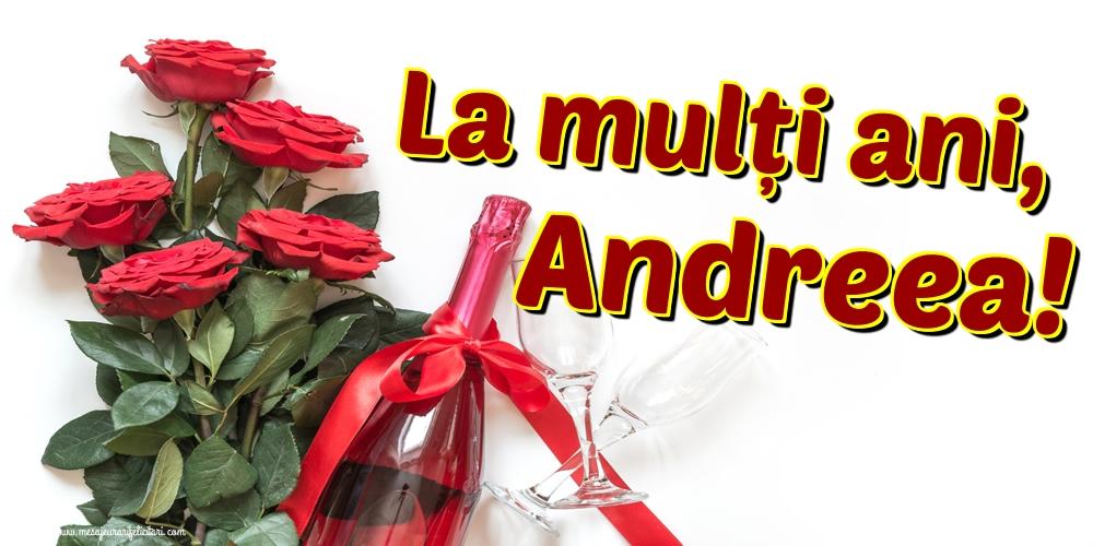 Felicitari aniversare De Sfantul Andrei - La mulți ani, Andreea!