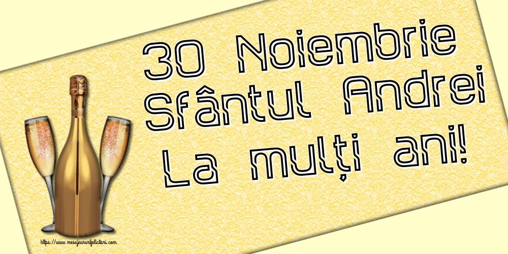 Felicitari aniversare De Sfantul Andrei - 30 Noiembrie Sfântul Andrei La mulți ani!