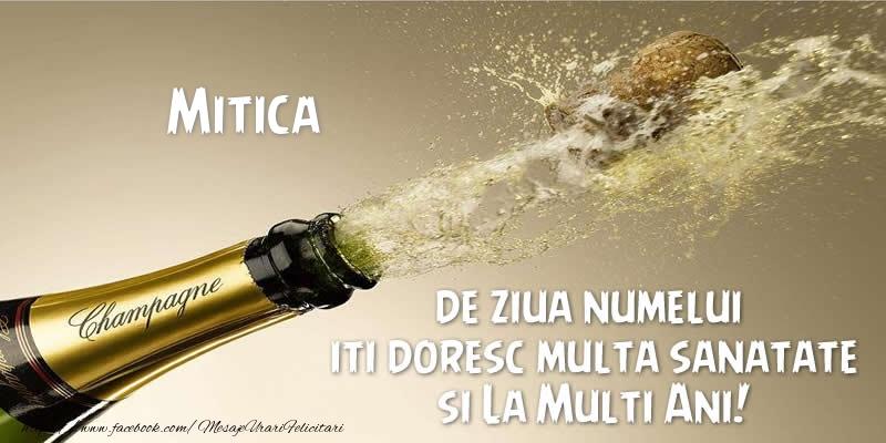 Felicitari aniversare De Sfantul Dumitru - Mitica de ziua numelui iti doresc multa sanatate si La Multi Ani!