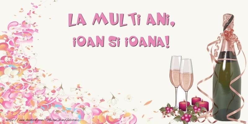 Felicitari aniversare De Sfantul Ioan - La multi ani, Ioan si Ioana!