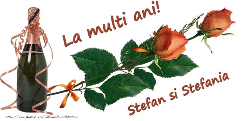 Felicitari aniversare De Sfantul Stefan - La multi ani! Stefan si Stefania