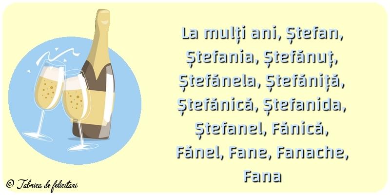 Felicitari aniversare De Sfantul Stefan - Felicitari de Sfantul Stefan