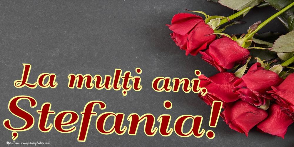Felicitari aniversare De Sfantul Stefan - La mulți ani, Ștefania!