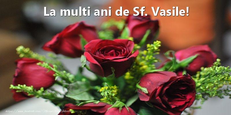 Felicitari aniversare De Sfantul Vasile - La multi ani de Sf. Vasile!