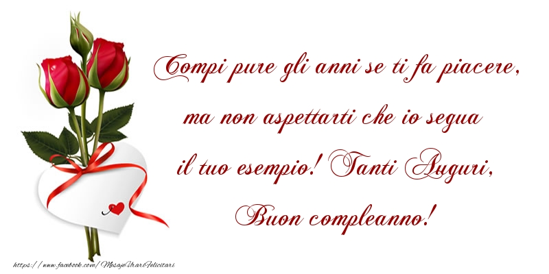Felicitari Aniversare in limba Italiana - Tanti Auguri, Buon compleanno!