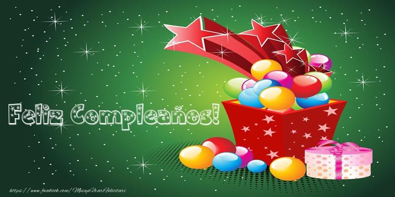 Felicitari Aniversare in limba Spaniola - Feliz Compleaños!