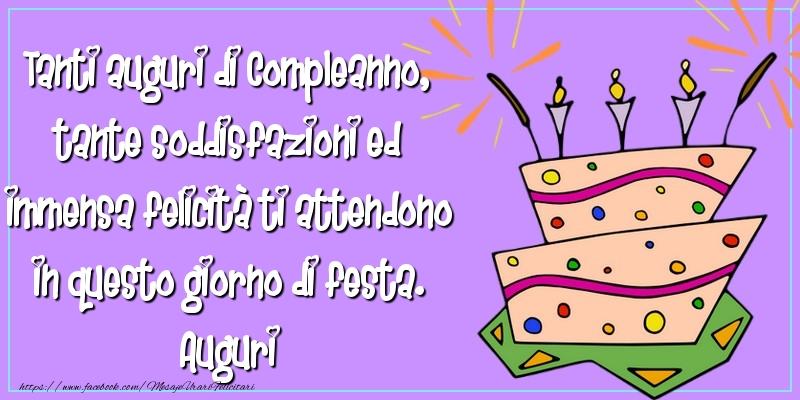 Felicitari Aniversare in limba Italiana - Tanti auguri di Compleanno