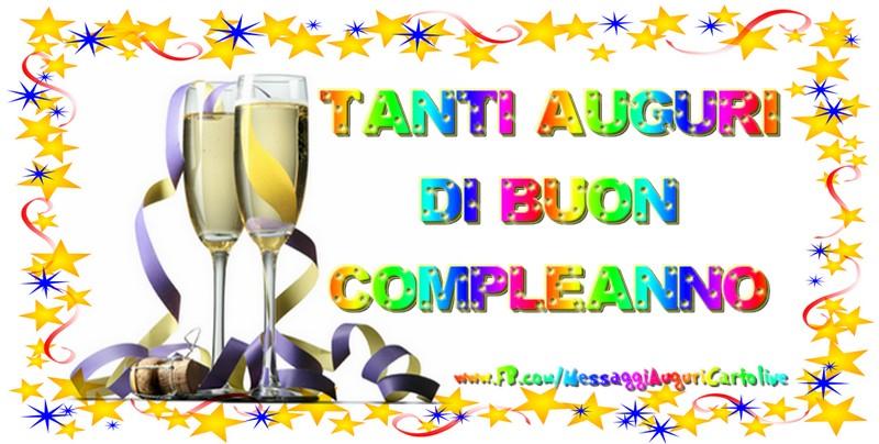 Felicitari Aniversare in limba Italiana - Tanti Auguri di Buon Compleanno