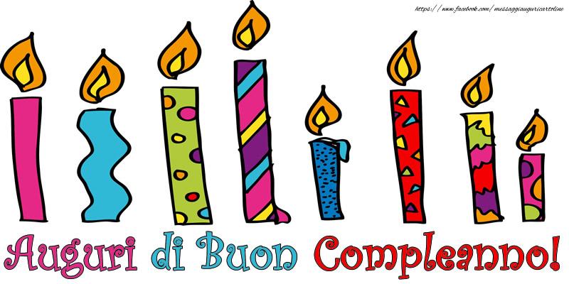 Felicitari Aniversare in limba Italiana - Auguri di Buon Compleanno!
